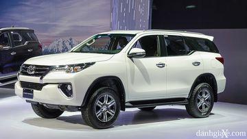 Fortuner đang là dòng xe nhập khẩu bán chạy của Toyota Việt Nam