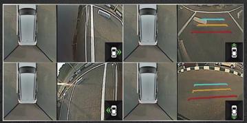 Hệ thống camera 360 hoạt động chưa thực sự xuất sắc