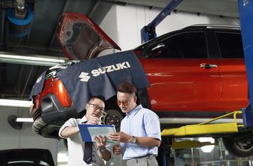 Ngoài những mẫu xe chất lượng, Suzuki cũng quan tâm đến dịch vụ hậu mãi và phụ tùng, đảm bảo cho khách hàng trải nghiệm hoàn hảo.