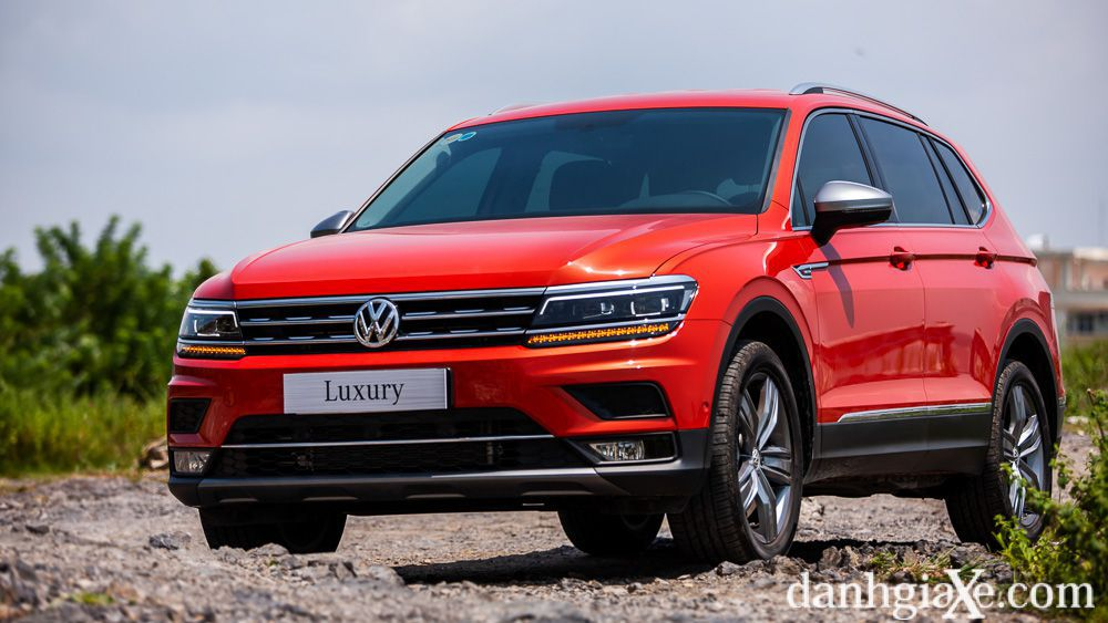 đanh Gia Sơ Bộ Volkswagen Tiguan Allspace Luxury 2020