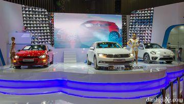 Các dòng xe Volkswagen nhập khẩu tại VIMS 2017