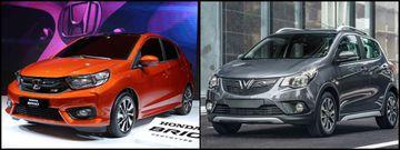 Honda Brio và Vinfast Fadil vừa ra mắt