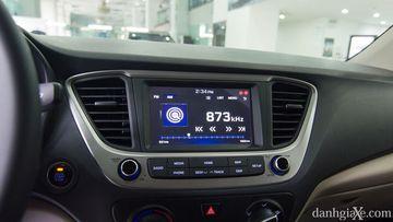 Màn hình AVN 7 inch trên Hyundai Accent 1.4MT 2018