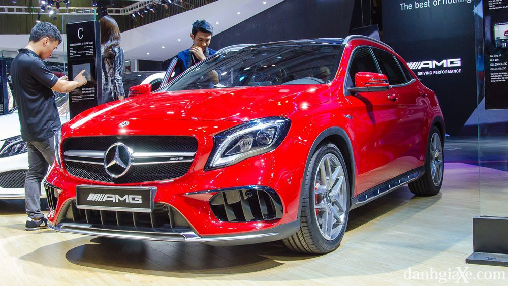 Kết quả hình ảnh cho Bảng giá Mercedes AMG GLA 45