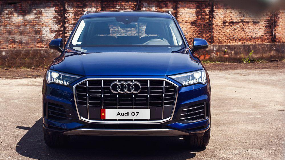 đanh Gia Sơ Bộ Xe Audi Q7 2020
