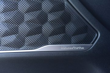 Loa Harman Kardon trên Hyundai Santa Fe 2021