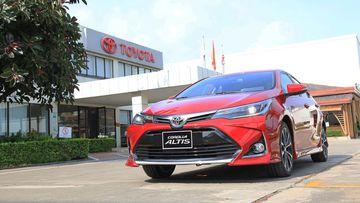 Danh gia so bo xe Toyota Corolla Altis 2021