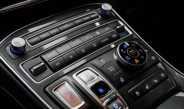 Điều hoà tự động trên Hyundai Santa Fe 2021