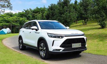Beijing X7 là mẫu C-SUV với danh sách trang bị tiện nghi và công nghệ hàng đầu phân khúc