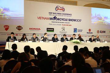 Triển lãm Mô tô xe máy Việt Nam 2017 sẽ quy tụ hơn 100 mẫu xe