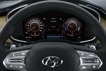 2021 hyundai santa fe 25 2 100153 Đánh giá sơ bộ xe Hyundai Santa Fe 2021