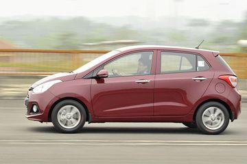 Hyindai i10 là một trong những mẫu xe nhập từ Ấn Độ về VN