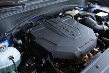 Động cơ trên Hyundai Santa Fe 2021
