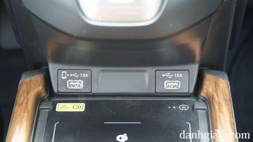 Sạc không dây tiện ích đã xuất hiện trên Honda CR-V 2021