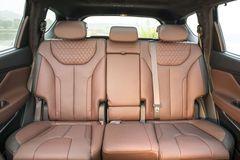 Hàng ghế thứ hai trên Hyundai Santa Fe 2021