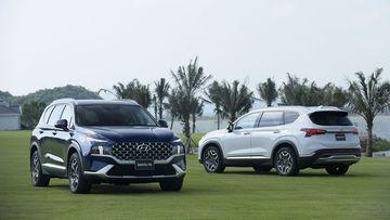 Hyundai Santa Fe là mẫu D-SUV chủ lực của Hyundai tại thị trường Việt Nam