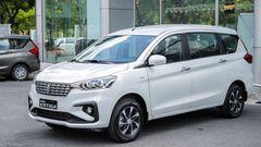 Diện mạo mới trên Suzuki Ertiga 2021 lịch lãm, hiện đại hơn hẳn