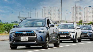 Đánh giá chi tiết xe Toyota Corolla Cross 1.8HV 2021