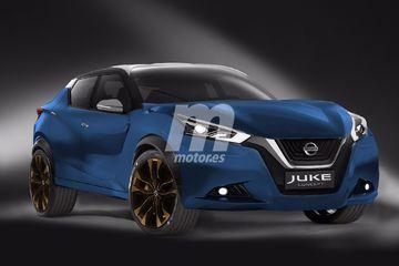 Ảnh phác thảo Nissan Juke thế hệ thứ 2