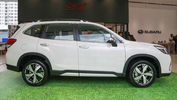 Danh gia so bo xe Subaru Forester 2019