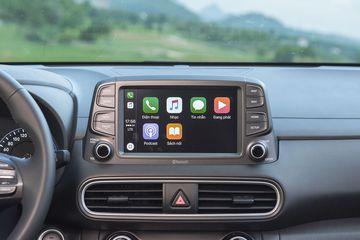 Màn hình Hyundai Kona hỗ trợ Apple CarPlay
