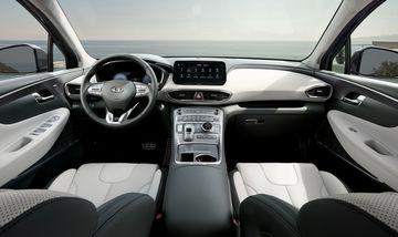 2021 hyundai santa fe 9 2 100058 Đánh giá sơ bộ xe Hyundai Santa Fe 2021