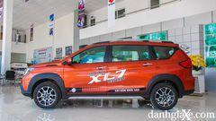 Thân xe dài phù hợp với thiết kế 7 chỗ ngồi của Suzuki XL7