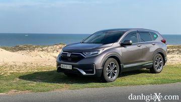 Đánh giá chi tiết xe Honda CR-V 2021