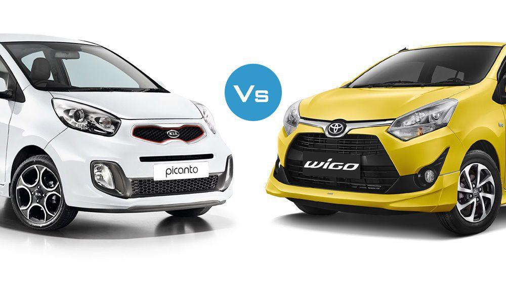 So sánh nhanh KIA Morning 2019 và Toyota Wigo 2019