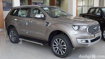Ford Everest là mẫu D-SUV rất được yêu thích của Ford tại thị trường Việt Nam