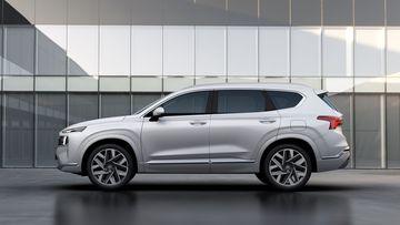 2021 hyundai santa fe 5 4 095707 Đánh giá sơ bộ xe Hyundai Santa Fe 2021