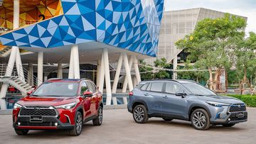 Danh gia so bo xe Toyota Corolla Cross 2020
