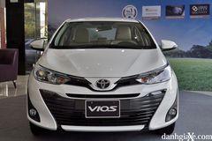 Đầu xe Toyota Vios 2020 có thiết kế trung tính hơn