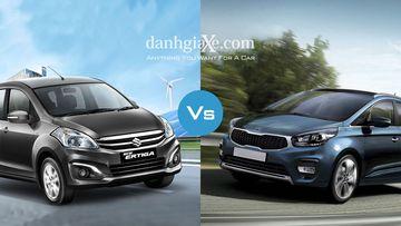 Lựa chọn Suzuki Ertiga hay KIA Rondo?