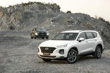 Danh gia so bo xe Hyundai Santa Fe 2019