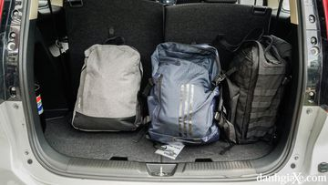 Khoang hành lý của Suzuki Ertiga 2021