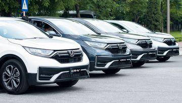 Đánh giá sơ bộ xe Honda CR-V 2021