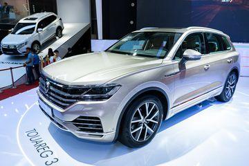 Volkswagen Touareg 2019 là mẫu xe đầy ấn tương tại VMS 2018 và đã có hơn 30 khách hàng sẵn sàng đặt cọc.