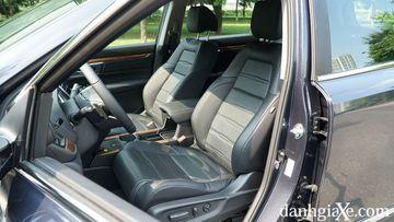 Ghế lái Honda CR-V 2021 với chức năng chỉnh điện 8 hướng