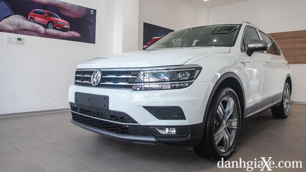 Đánh giá sơ bộ Volkswagen Tiguan Allspace 2019