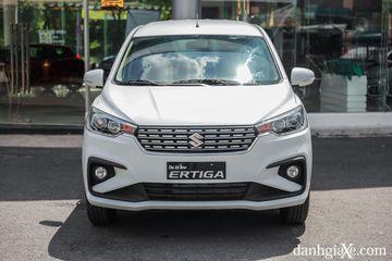 Thiết kế phần đầu xe Suzuki Ertiga 2021 phong cách lịch lãm, hiện đại