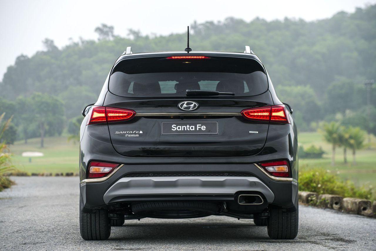 đanh Gia Sơ Bộ Xe Hyundai Santa Fe 2019