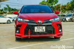 Đầu xe Toyota Vios GR-S thể thao hơn