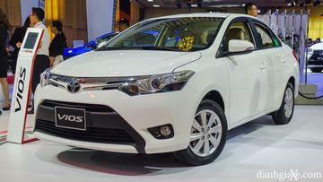Vios là mẫu xe bán chạy nhất của Toyota Việt Nam