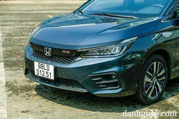 Honda City 2021 có ngôn ngữ thiết kế lấy cảm hứng khá nhiều từ Accord