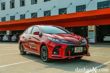Toyota Vios GR-S vừa ra mắt vào đầu năm 2021