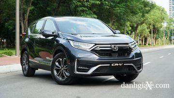 Honda CR-V là mẫu C-SUV nổi tiếng, đã tạo được vị thế nhất định trên thị trường xe Việt