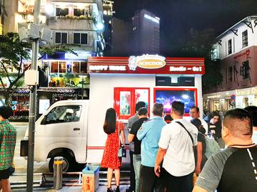 Mô hình ý tưởng kinh doanh mới lạ trên Suzuki Super Carry Pro