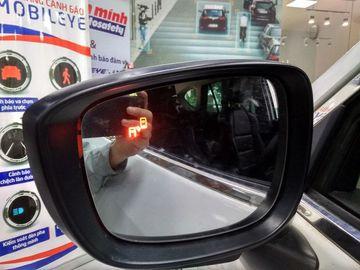 Cảnh báo điểm mù BSD trên gương Hyundai Kona