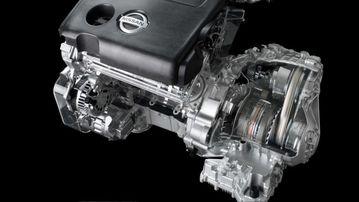 Hộp số vô cấp đặt cạnh động cơ Nissan